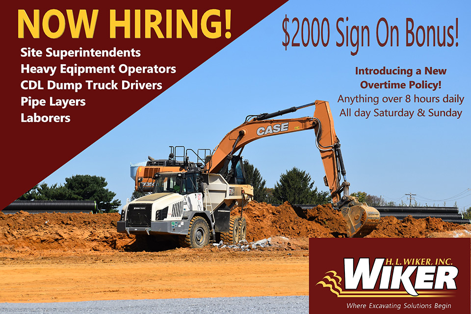 Now hiring, with a $2,000 sign on bonus